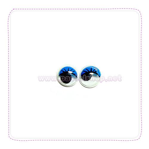 장식눈알(0.8cm 40개입)파랑 G-07-220