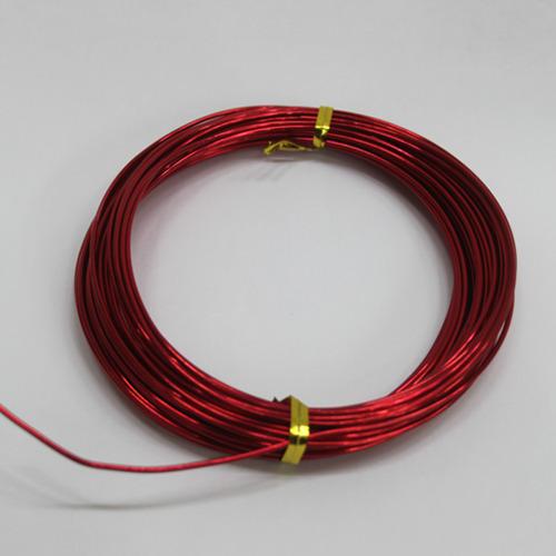 칼라 알루미늄 철사*빨강1.5mm*10m B-09-101