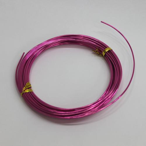 칼라 알루미늄 철사*핑크1.5mm*10m B-09-103
