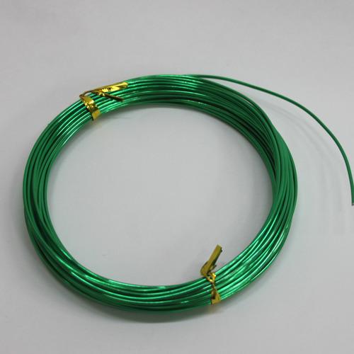 칼라 알루미늄 철사*녹색1.5mm*10m B-09-109