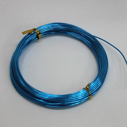 칼라 알루미늄 철사*파랑1.5mm*10m B-09-104