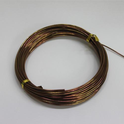 칼라 알루미늄 철사*밤색1.5mm*10mB-09-110