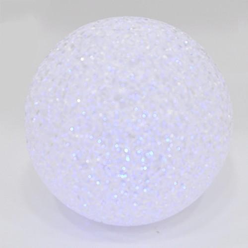 LED 크리스탈 *원볼* 직경 10cm (색상변함)*T-11-206