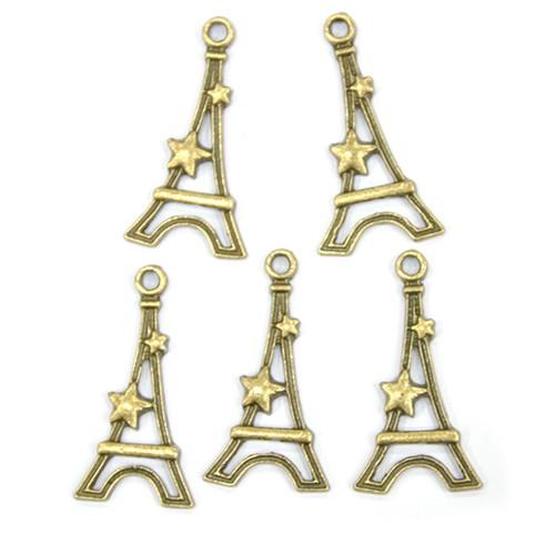 참장식 *S-09*별&에펠탑*참장식*1.6*3Cm*(5개입) B-04-102