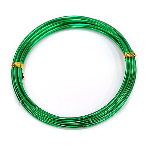 칼라 알루미늄 철사 2.5MM *초록*(2M입) F-07-122