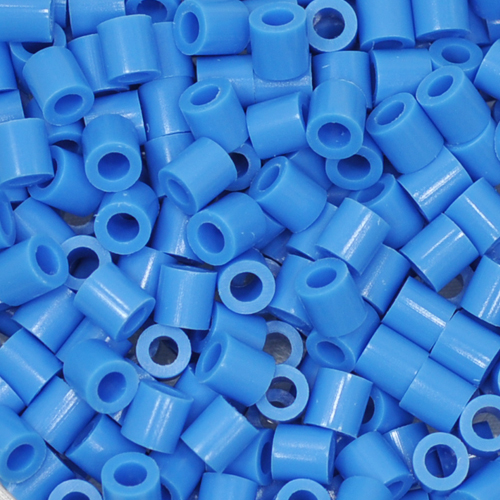 (6)5mm 컬러비즈 *파랑*(50~55g)(약1000개입) F-08-301