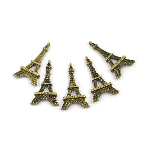 참장식 * S-52*PARIS에펠탑* 1.7*3.3cm (5개입) B-04-159