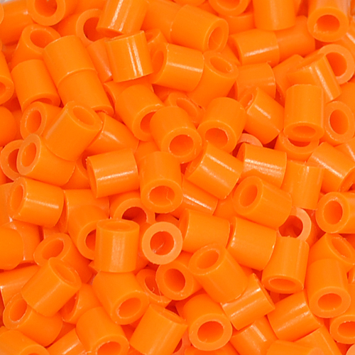 (38)5mm 컬러비즈 *주황*(50~55g)(약 1000개입) F-08-211