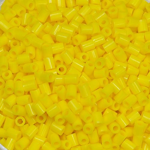 3mm 컬러비즈 *16g입* (약1000개) *노랑* F-09-205
