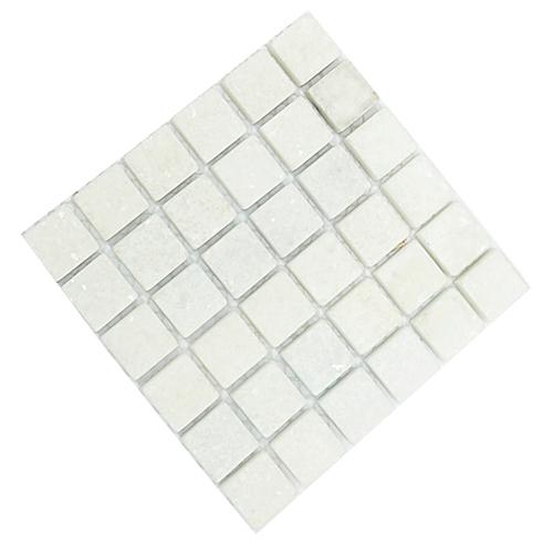 TL-017*하양대리석(1.5*1.5CM) 10*10CM*36개 U-02-103