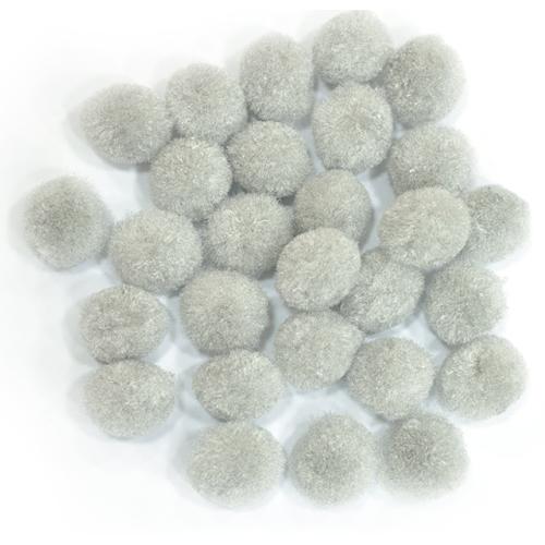보송이 모루*회색*지름18mm양만들기(약90-100개입) E-05-208