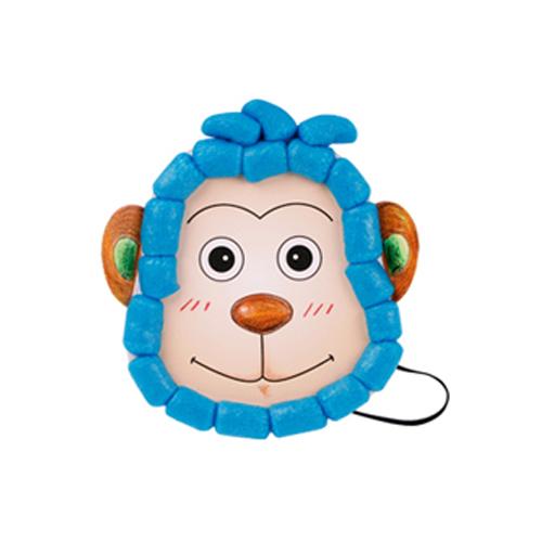 2F[플레이콘]동물머리띠가면(5인용)*원숭이 A-09-209