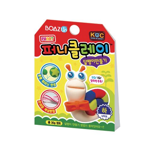 퍼니클레이)달팽이만들기 클레이7.5g K-02-108