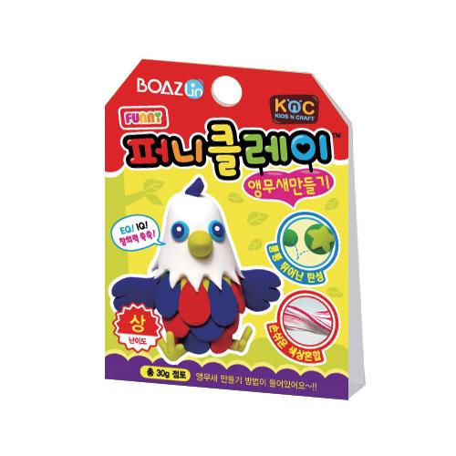 퍼니클레이)앵무새만들기 클레이7.5g  K-02-103