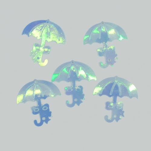 [한정세일]*홀로그램장식*우산*2.5*3.5cm*30개입 W-02-107