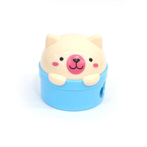 연필깍기*고양이*4.5*4.5cm*색상임의배송 R-11-302