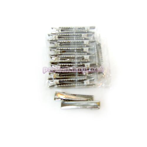 머리집게핀(소)은색*20개입 4.7cm*폭8mm A-08-105