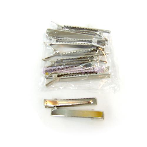 머리집게핀(중)은색*15개입 5.7cm*폭8mm A-08-104