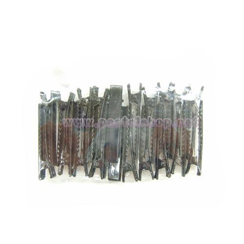 머리집게핀(소) 검정*20개입 4.7cm*폭8mm A-08-110