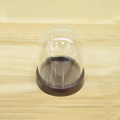 미니어처 원형 돔케이스 1호*낱개구매 5.5x6.5cm J-06-212