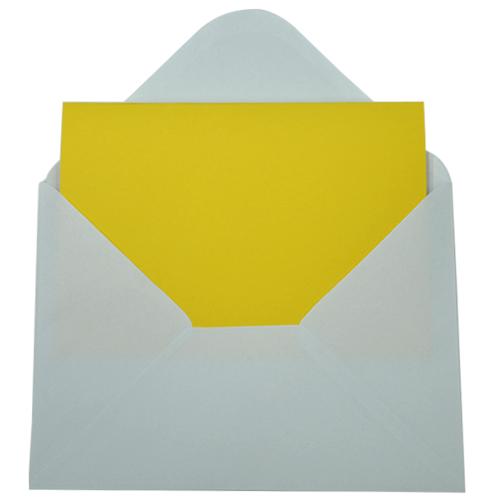 카드*노랑*13x18cm(10개세트)*T-09-306