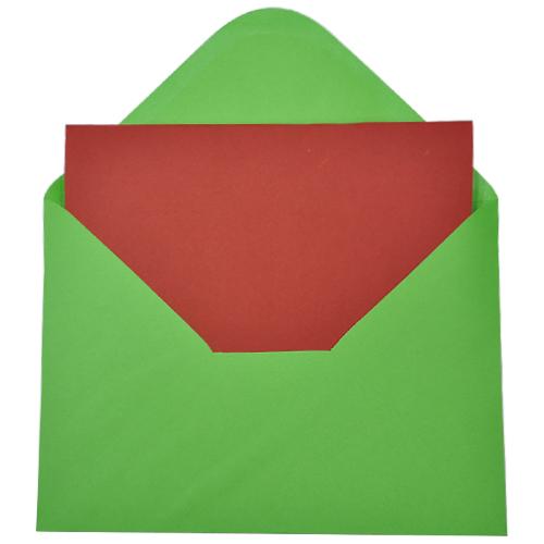 카드*빨강*13x18cm(10개세트)*T-09-303