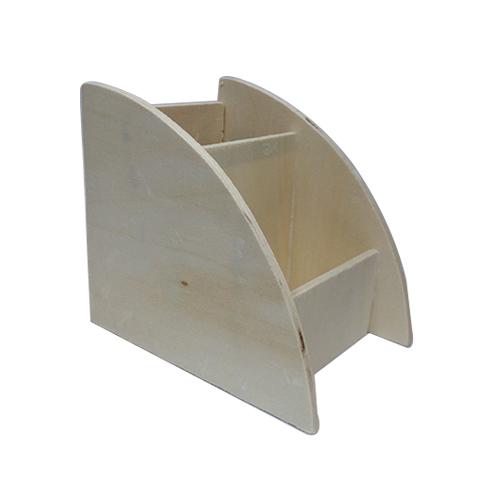 원목 2단꽂이 8.5x10x11cm M-05-107