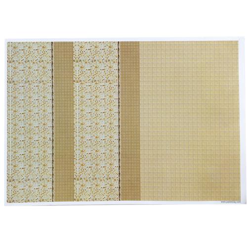 마루&타일 시트 3호 29.5x42.5cm*스티커 처리로 간편하게 붙임 U-03-110