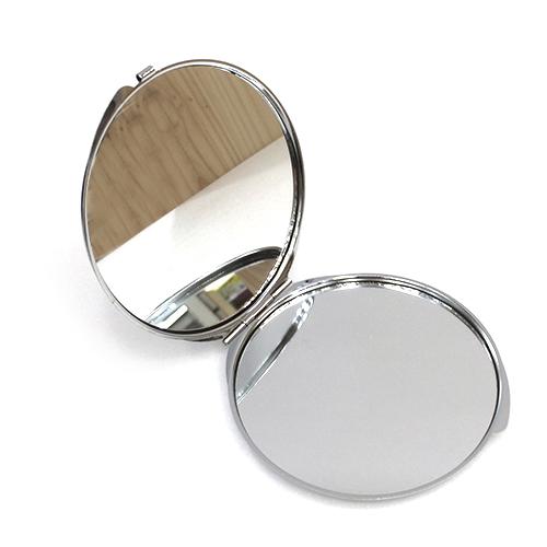 원형 양면 손거울*특대 8cm A-10-127