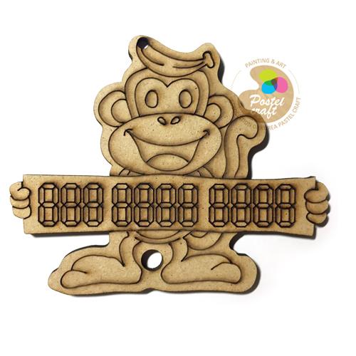 J- 팬시소품 원숭이주차판 10.5x8.5cm V-03-201