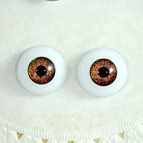 3D눈알 원형 *밤색* 16mm (10개입) G-07-210