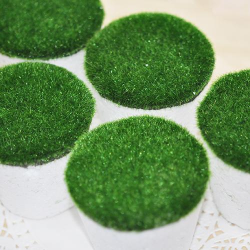 2F*잔디화분 폼(5개입)7x6.5x5cm
