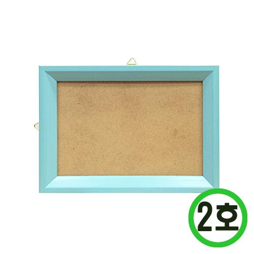 십자수액자*2호*파랑* 합판크기 10.3x15.3cm L-03-204