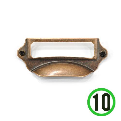 손잡이 6칸 서랍용 7*3cm (10개입) A-10-114