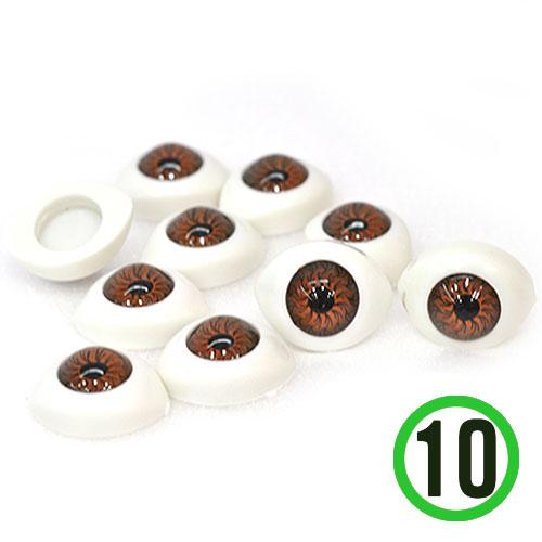 3D눈알 대*밤색*2X1.4cm(10개입) G-07-204