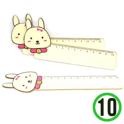 (냅스) 접이 자*토끼*4.5x18cm(10개입)  X-03-213