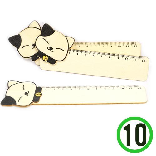 (냅스) 접이 자*고양이*4.5x17cm(10개입) X-03-214