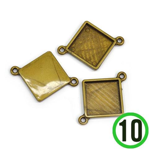 양면장식고리4호 마름모*소5.3X4cm(10개입)  B-07-136