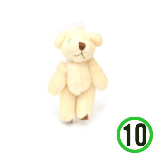 곰돌이 인형*소 4x7cm(10개입)*T-06-306