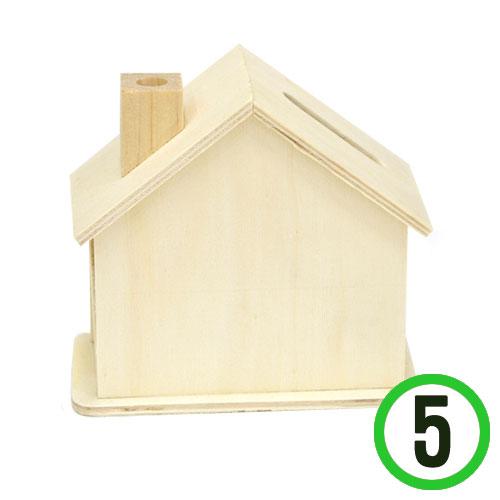 M-05-103 하우스 굴뚝 저금통*5개입