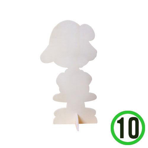 찰리브라운 여*10개입*25.5(높이)*11cm Q-11-307