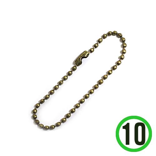 군번줄*황동*대* 10개입(길이15cm 두께2mm) R-01-02