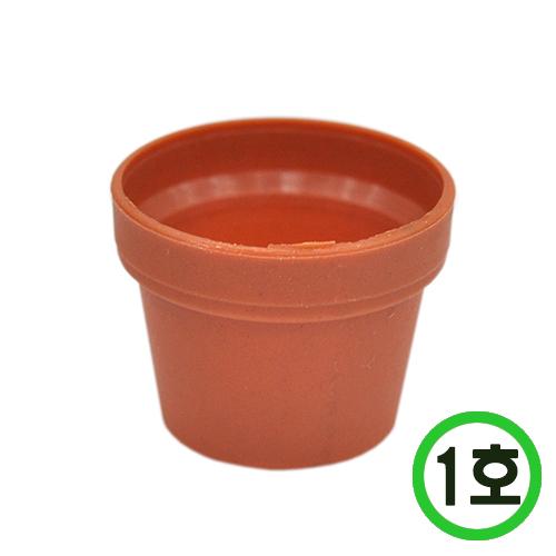 PVC화분*1호*약 38-40개입*3.8(지름)*3cm(높이) N-03-201