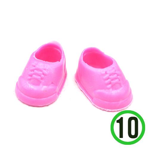 인형신발*핑크*10개입 1.7*1cm F-05-215