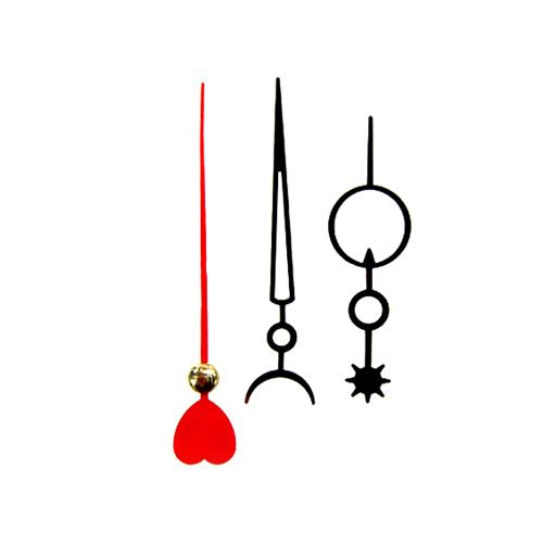 시계바늘 해달하트모양*6.6cm 분침길이