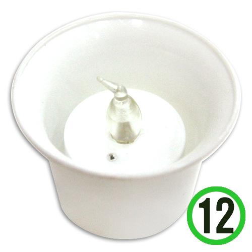 화분촛불 6*4.5cm(12개입) N-04-101