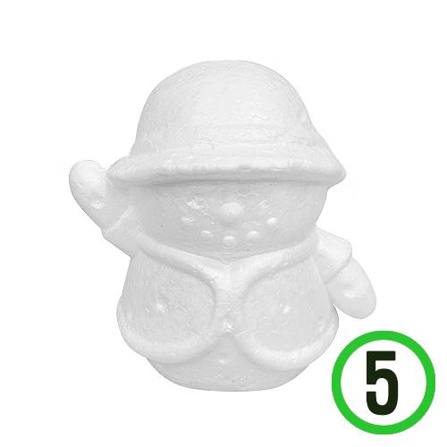 2F*조끼 눈사람 폼 13x13.5cm(5개입)
