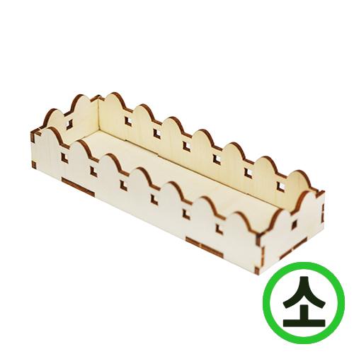 DIY화분받침대*소*13x4.5x2.5cm(4개입) N-10-01
