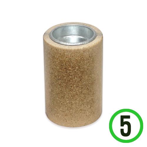에코원기둥촛대*5개입 6*9cm K-05-101