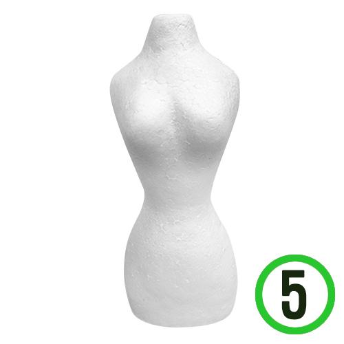 2F*바디 폼*여자*7x18cm(5개입)